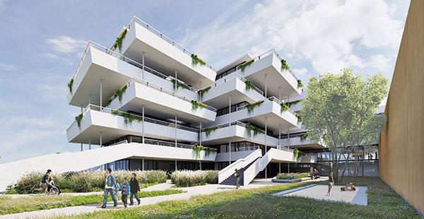 MA 34 Stadt Wien - Bildungscampus Aron Menczer Copyright: Architekt Martin Kohlbauer