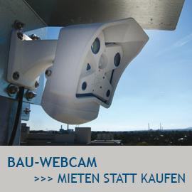 Baustellen Webcam zum Mieten, Baustellendokumentation